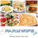 Meal Plan Week 14