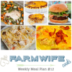 Welcome to this week's meal plan I have a great group of recipes for you this week including; Honey Glazed Turkey and Potatoes, Mexican Corn and Chicken Chowder, Sour Cream Noodle Bake, Cheesy Potato Soup, Chicken Ranch Vegetable Pizza, Cajun Pork Burgers with Shrimp and Spicy Aioli, Classic Meatloaf, Instant Pot Low-Carb Mashed Cauliflower, Soft Pumpkin Cookies and Grandma's Chocolate Fantasy Fudge.