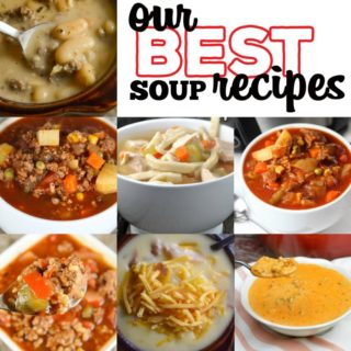 Are you looking for a new soup recipe to warm you up? I rounded up our best healthy, easy, soup recipes made on the stovetop or slow cooker.