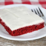 Red Velvet Texas Sheet Cake