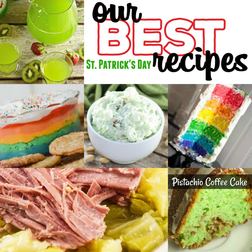 Our Best St. Patrick's Day recipes include easy dinner, dessert and appetizer ideas perfect for your celebration.