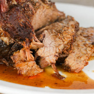 Western Style Brisket is an easy baked beef brisket recipe that has a kick and is so tender and juicy!