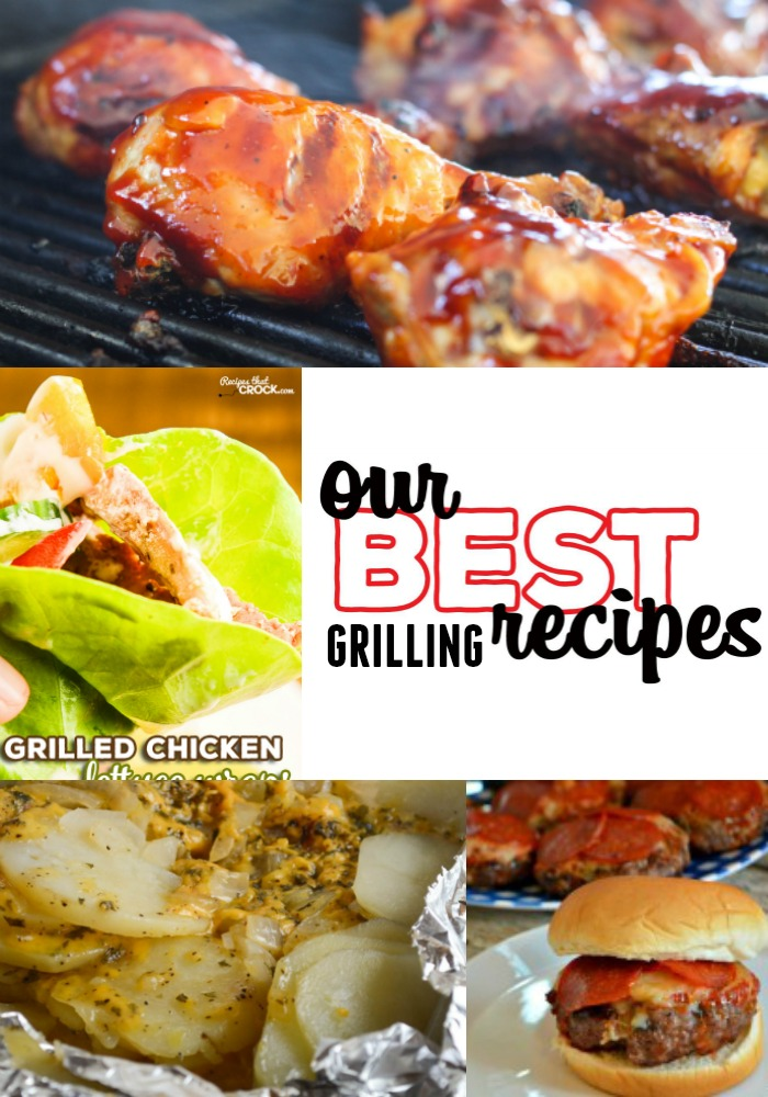 These recipe are some of our best grilling recipes and are easy to make and enjoy all summer long!  #grilling #easyrecipe