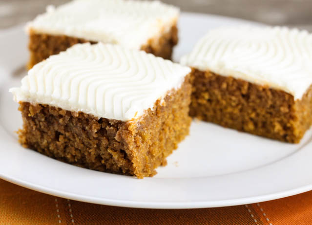 Pumpkin Bars With Cream Cheese Icing The Farmwife Cooks