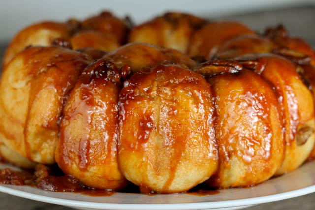 Overnight Breakfast Roll, also known as Butterscotch Monkey Bread is a great holiday breakfast recipe!