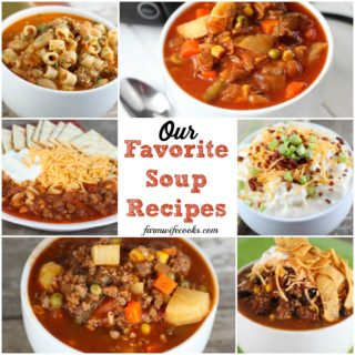 Our favorite, easy, soup recipes including healthy soups made in the slow cooker, Instant Pot and more!