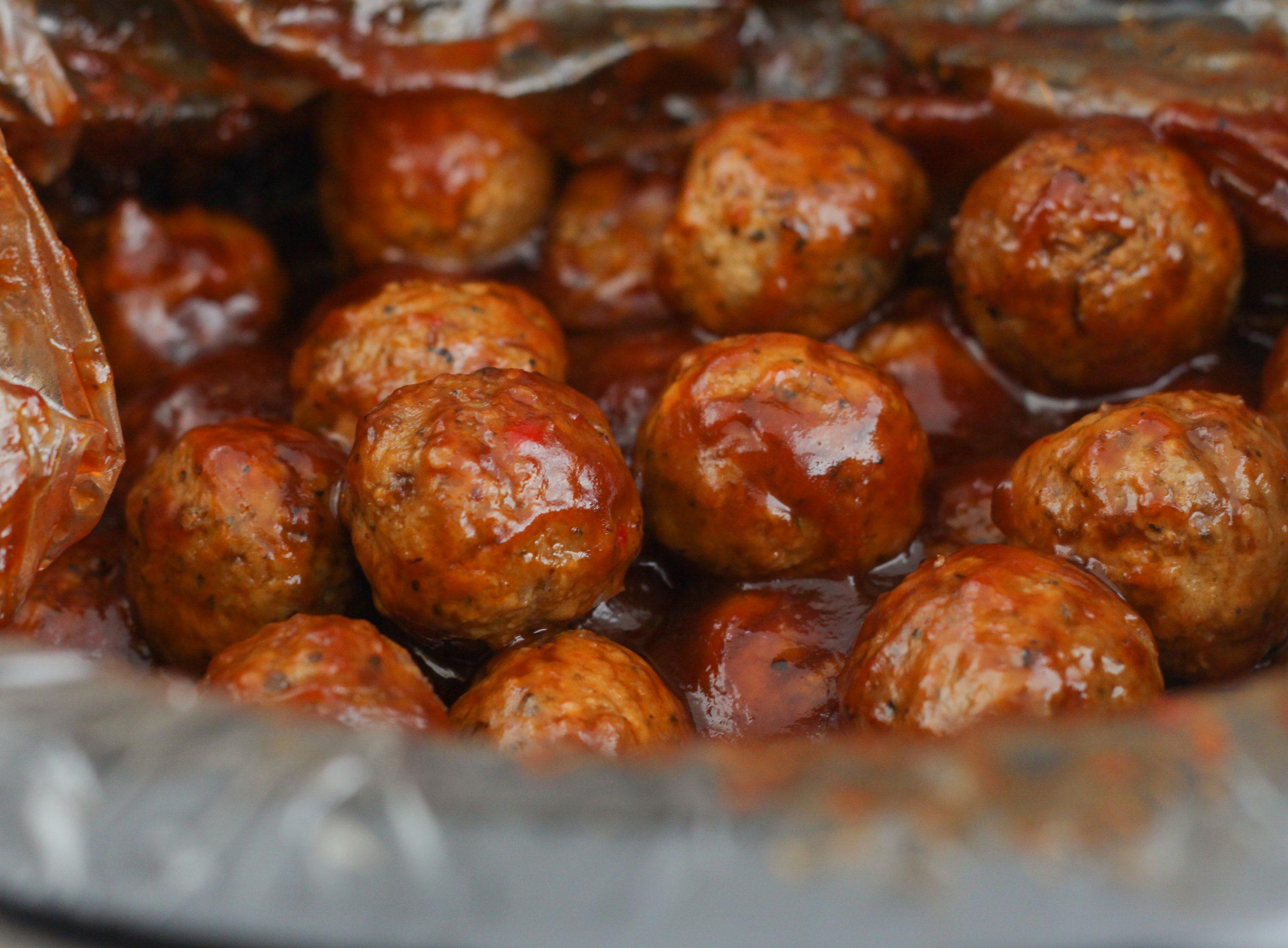 Crock Pot BBQ Meatballs